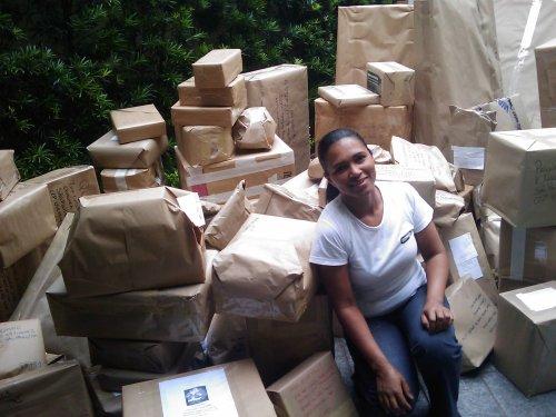 Rosa Carvalho e os presentes